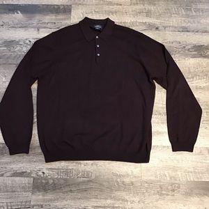 Brooks Brothers 346 Italian merino wool sweater XL